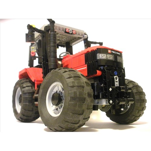Radio controlled tractor